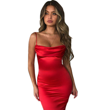 New Dress Women Summer Bodycon Long Midi Sleeveless Backless Elegant Party Outfits Sexy Club Clothes