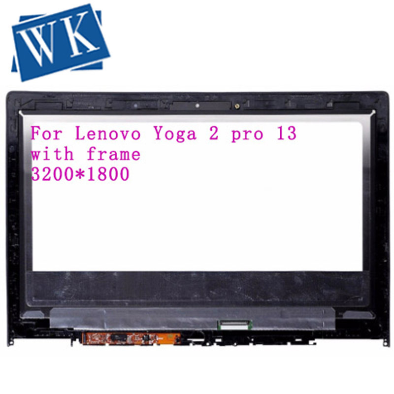 0riginal with bezel For Lenovo IdeaPad Yoga 2 Pro 13 LTN133YL01-L01 Laptop LCD Touch Screen Assembly 3200*1800 image