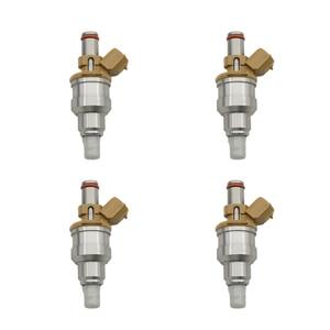 4pc Fuel Injector 195500-2180 F0CZ9F593A BP06-13-250 822-12103 For FORD&MAZDA ESCORT / 323 / MX-5 / PROTEGE 1.8L L4