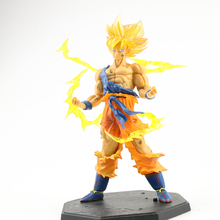 17Cm Anime Dragon Ball Z Super Saiyan Son Gohan Action Figures Dragonball Beeldje Pvc Collectible Model Speelgoed Voor Kinderen