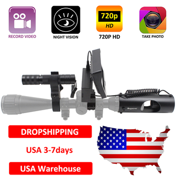 Megaorei2 Sniper Night Vision Device Rifle Scope Hunting Camcorder Video Camera with Laser Infrared Flashlight and LCD Screen 1