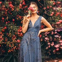 Robe De Soiree Evening Dresses Ever Pretty EP07860 Sexy V Neck Sleeveless A Line Formal Dresses Elegant Evening Gown Abiye 2020