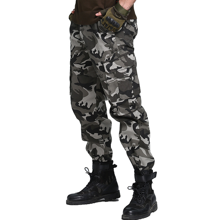 Spring And Autumn New Style Bib Overall Military Style Comfortable Casual Outdoor Camping Unisex Through Wear Straight-leg Pants