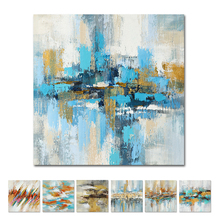 Abstract Oil Painting 100% Handpainted Colorful Landscape Art Picture On Canvas For Home Decor Modern Abstract Wall Art Painting