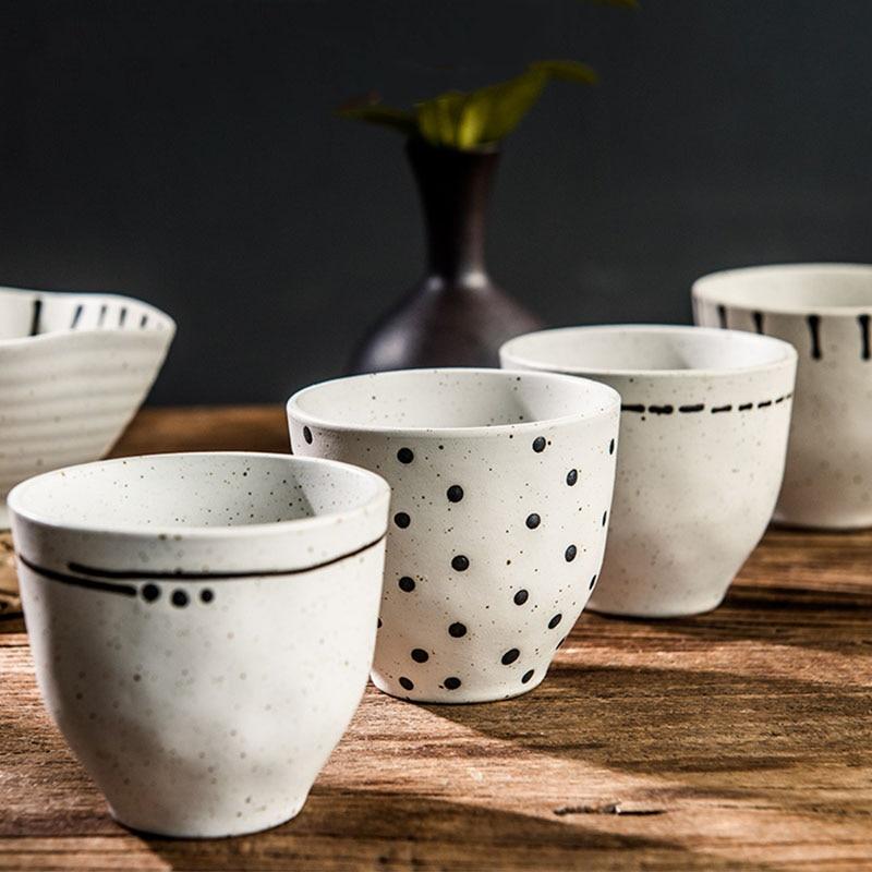 ANTOWALL японские чашки Ретро домашние креативные керамические чашки высокого уровня для любителей питья|Чашки и соусницы|   | АлиЭкспресс - Любителям чая