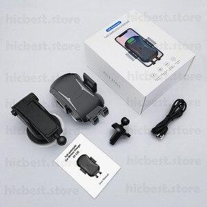 Image 5 - 10W Auto Caricatore Ad Induzione Senza Fili per il iPhone Samsung Auto Senza Fili di Ricarica Caricabatteria Da Auto per iPhone 8 X XR XS samsung S8 S9 S10