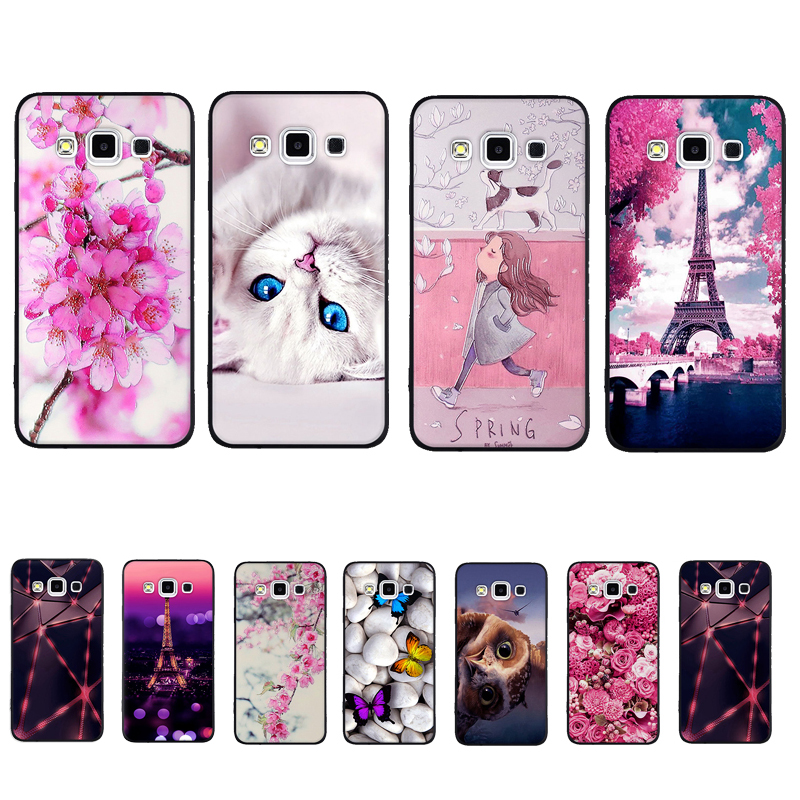For <font><b>Samsung</b></font> <font><b>Galaxy</b></font> A3 2015 A300 A5 2015 A500 <font><b>Case</b></font> TPU Cover for <font><b>Samsung</b></font> Note 8 N950 <font><b>Galaxy</b></font> S5 <font><b>A8</b></font> 2018 Plus A530 <font><b>Case</b></font> Cover Funda image