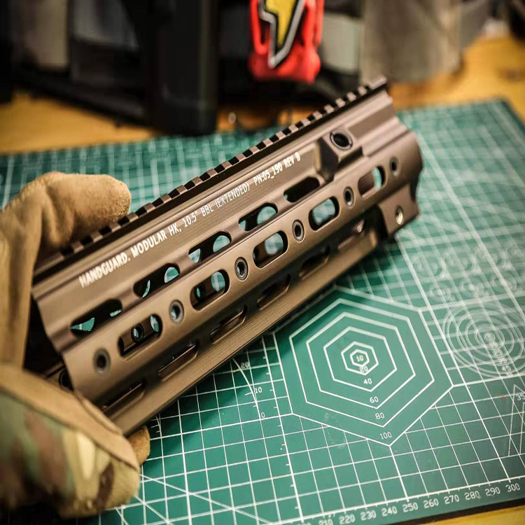 Uniontac SMR Rail G Style 10.5 Inch For  HK416  Airsoft AEG
