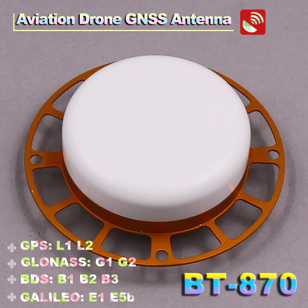 BEITIAN NEW 3 6V drone NAV aviation RTK Module Receiver GNSS antenna GPS BDS GLONASS GALILEO SMA K connector, BT 870-in GPS Receiver & Antenna from Automobiles & Motorcycles    1