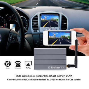 Car WiFi Display Mirror Link Box Adapter DLNA Airplay for Android iOS