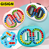 Rotating Magic Beans Cube Kids Fingertip Toy Adult Stress Relief Spin Bead Puzzles Finger Gyro Child Education Intelligence Game