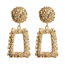 LEGENSTAR Fashion Big Drop Earrings For Women European Design Geometric Earings Gift Friend Metal Jewelry Trend 2019