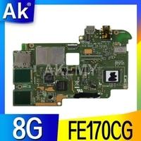AK K012 FE170CG Tablet ASUS ME70C Test orijinal anakart 8G