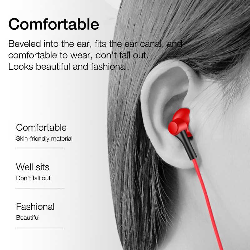 Eardeco In Ear Wired Hoofdtelefoon 3.5 Mm Stereo Bass Oortelefoon In-Ear Headset Muziek Oordopjes Draad Met Microfoon Voor mobiele Telefoon MP3 MP4