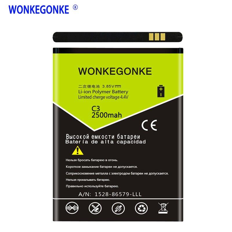€7.14 10% СКИДКА|WONKEGONKE для OUKITEL C3 C4 C5 C8 C11 PRO K4000/K4000 PRO U2 U7 MAX PLUS PRO U22 батарея|Аккумуляторы для мобильных телефонов| |  - AliExpress