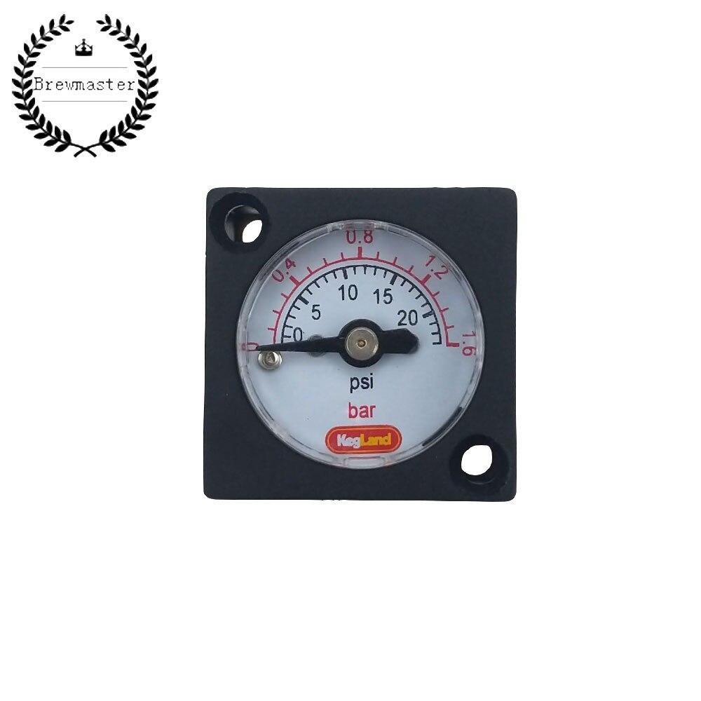 MINI GAUGE 0-23PSI (0-1.5BAR) - FOR INLINE DUOTIGHT REGULATOR OR BLOWTIE