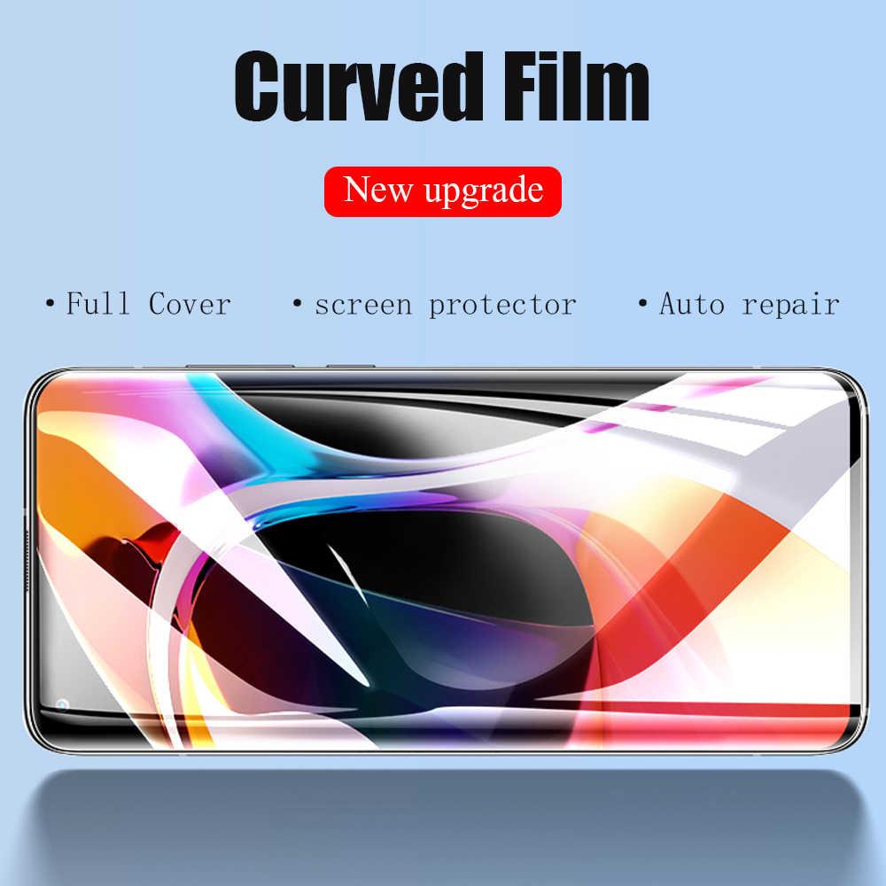 Filme de hidrogel de cobertura completa 50d para xiaomi mi 8 9 se protetor de tela para nota 10 lite cc9 pro a3 cc9e película de proteção não vidro