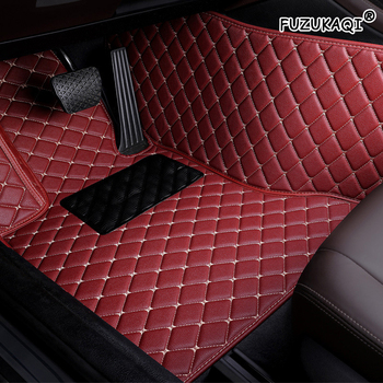 FUZHKAQI Auto car floor Foot mat For bmw f10 x5 e70 e53 x4 f11 x3 e83 x1 f48 e90 x6 e71 f34 e70 e30 waterproof accessories image