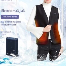 Heated-Vest Hunting-Jacket Thermal-Cloth Electric Winter Outdoor Men New