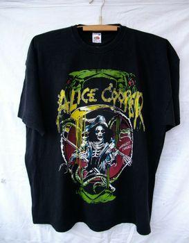 Camiseta Alice Cooper 2012 2013 Tour Raise The Dead Thrills