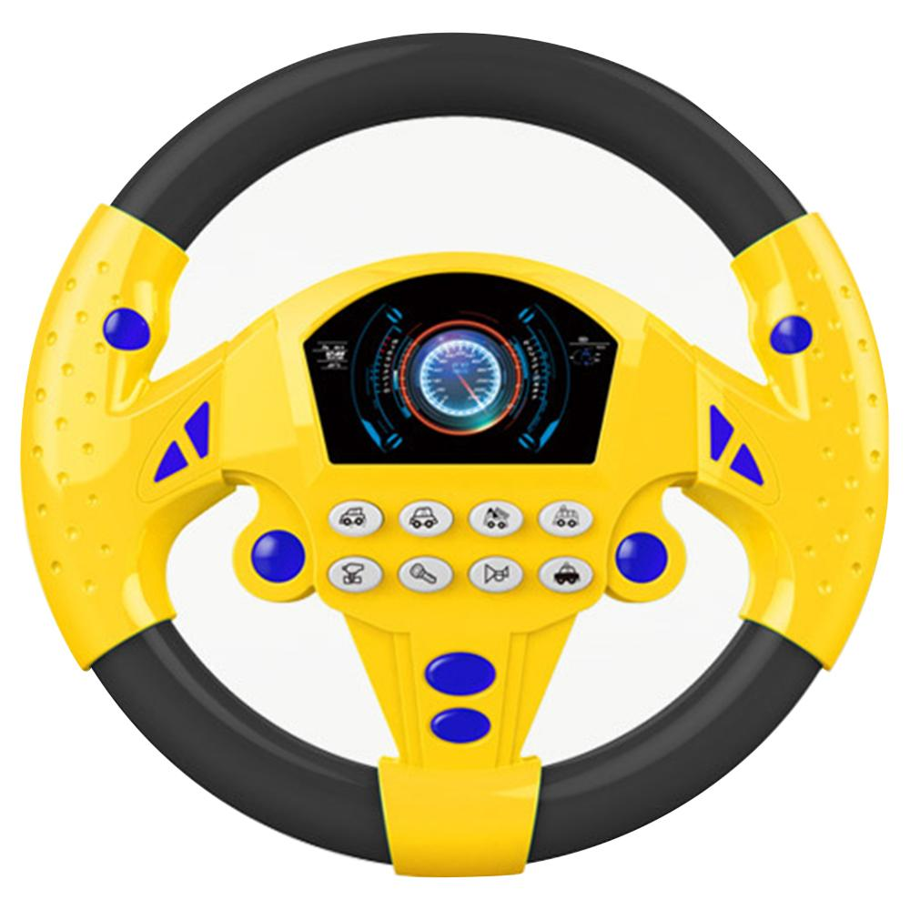 Educational Toys Music Simulated Steering Toy Children's Simulation Small Steering Wheel Copilots Early Childhood Juguetes