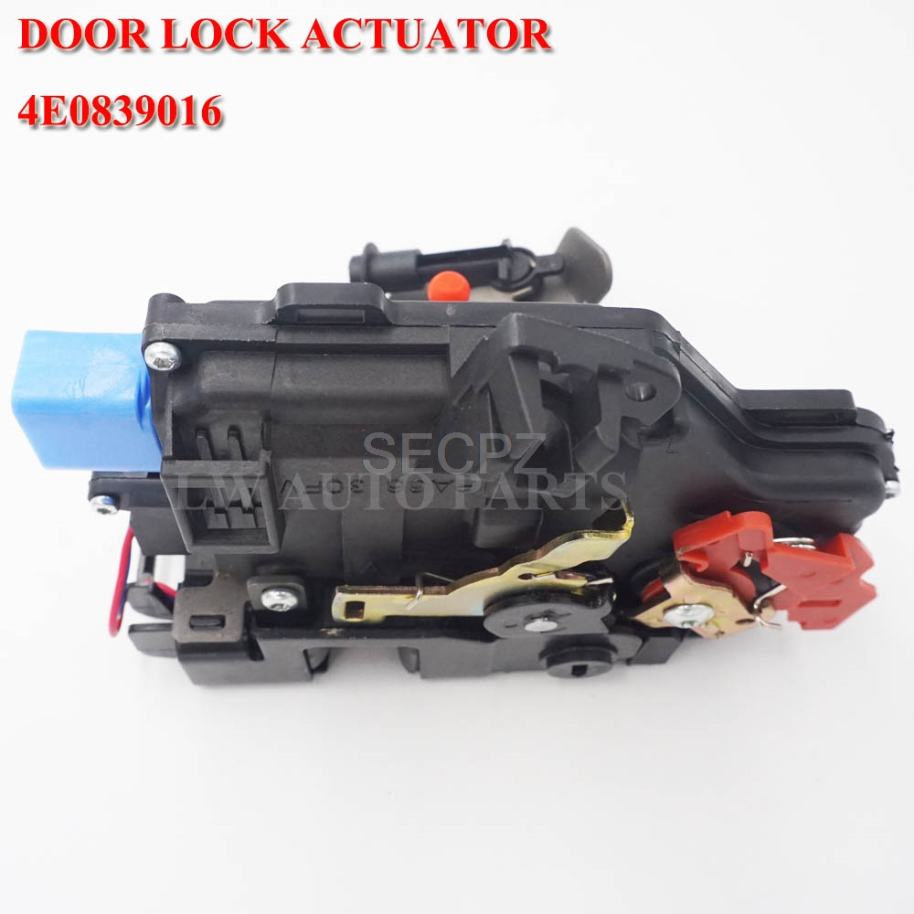 Door Lock Right Rear for <font><b>Audi</b></font> <font><b>A8</b></font> <font><b>D3</b></font> <font><b>4E</b></font> qu 02-05 4E0839016 4E0839016A image
