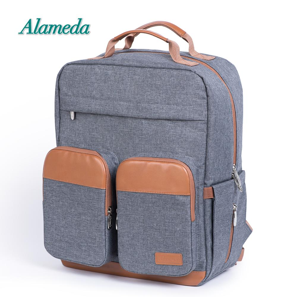 Fashion Maternity Bag Diaper Bag Backpack For Baby Care Large Capacity Travel Nappy Bag For Stroller With Changing Pad