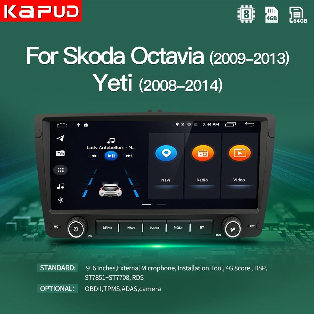 Kapud Android 10.0 Car Radio GPS Multimedia Player 9.6
