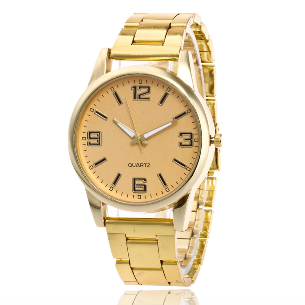 Dropshipping Dress Watch Fashion Cheap Quartz Wristwatches Relojes Mujer 2018 Rose Gold Steel Alloy Strap For MEN Women Gifts