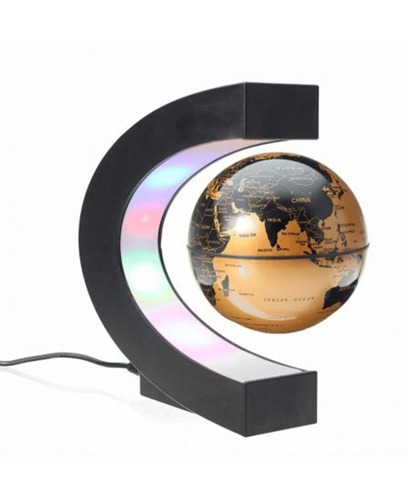 C Форма магнитной левитации Монтессори географический Глобус плавающий карта мира теллурион светодиодный светильник Terrestre обучающие игрушки для детей