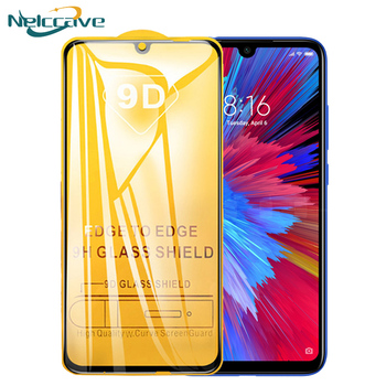 10Pcs Full Coverage 9D Tempered Glass For Xiaomi A3 Lite Mi A2 A1 5X 6X Mi7 Play Note 3 Poco X3 X2 F1 F2 Screen Protector Film