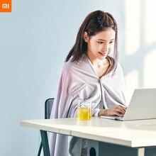 Yeni Youpin MIjia Youpin AIKa akıllı sıcaklık kontrollü grafen isıtma ev battaniyesi 3 hız 10 saniye ısı