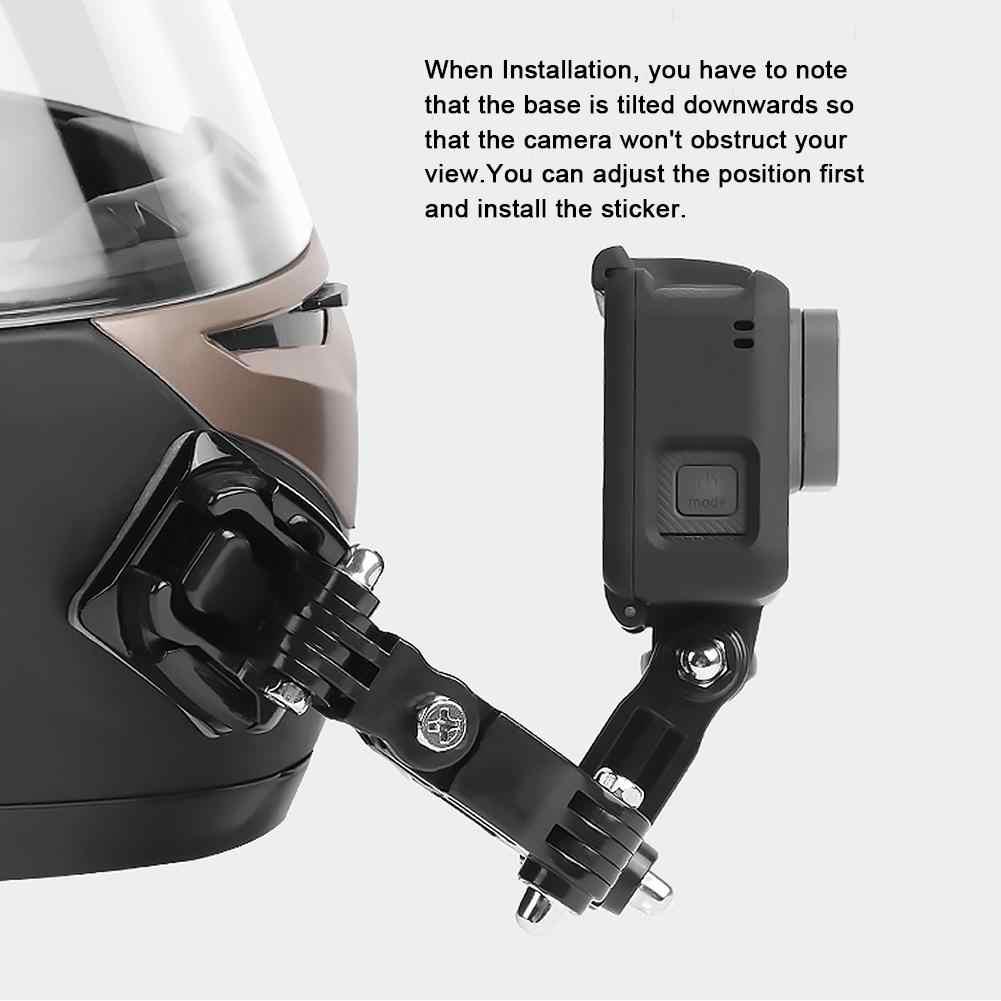 Adhesivo Casco mandíbula brazo soporte de montaje barbilla de Montaje para GoPro Hero 6 5 4 K6