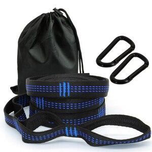 Image 1 - 2 قطعة حزام أرجوحة 10 أقدام طويلة ، قوية للغاية وخفيفة الوزن ، 17 ثقوب لتلبية احتياجات التكيف الخاصة بك