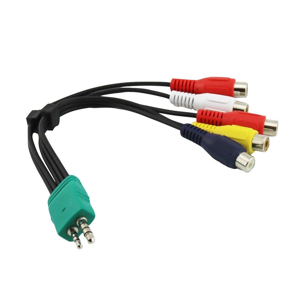 1x видео AV компонент аудио адаптер Соединительный кабель для Samsung LED TV BN39-01154W BN3901154W 25 см