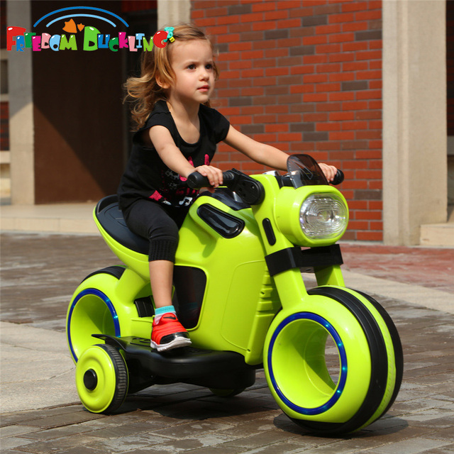 Special Price  Children's electric dual drive motorcycle large tricycle boy girl aged 3-6 Can sit baby kid toy baby carriage   Happy Baby Mama