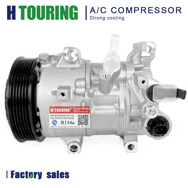 NEW 6SES14C A//C Compressor For Toyota Corolla 1.8L 2014 2015 2016 Each