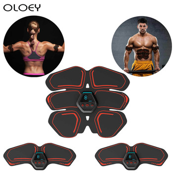 abdominal muscle stimulator trainer ems abs fitness equipment training gear muscles electrostimulator toner exercise at home gym USB Rechargable Equipment Training Gear Muscles Electrostimulator Toner Gym Abdominal Muscle Stimulator Trainer EMS Abs Fitness