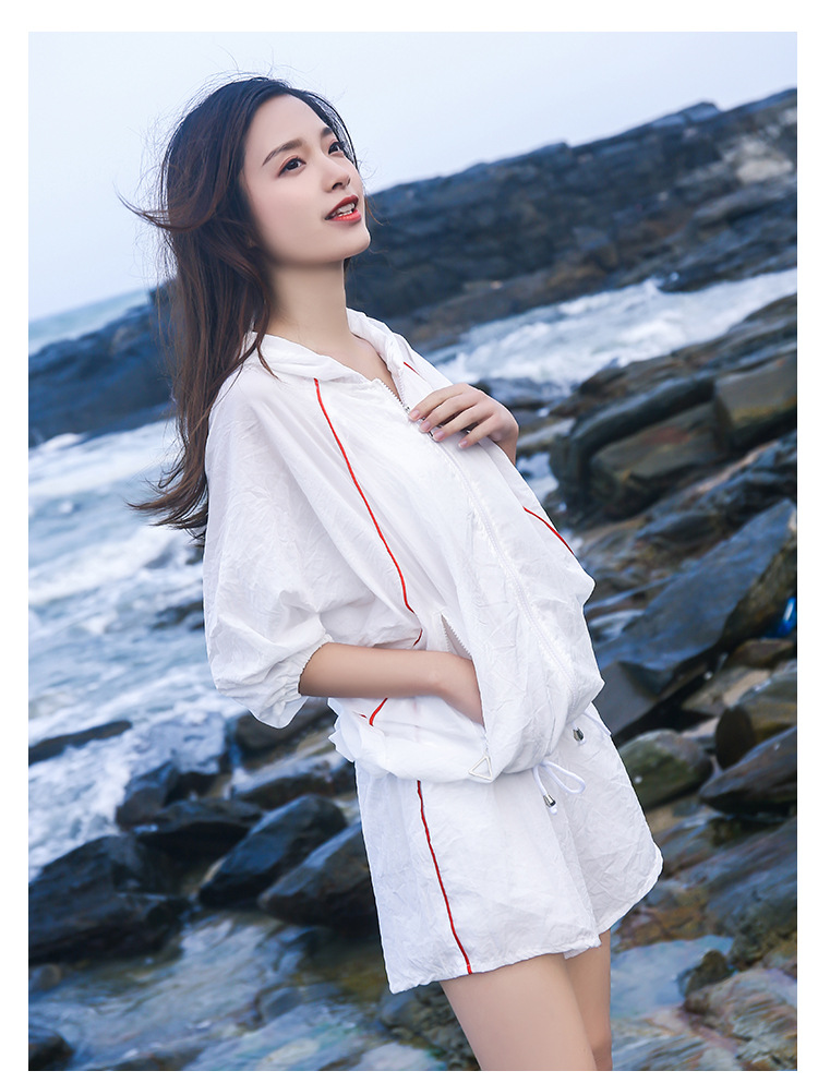 Spring And Summer Chubby Mm Favorite Two-Piece Set Loose Tops Shorts Coat Set