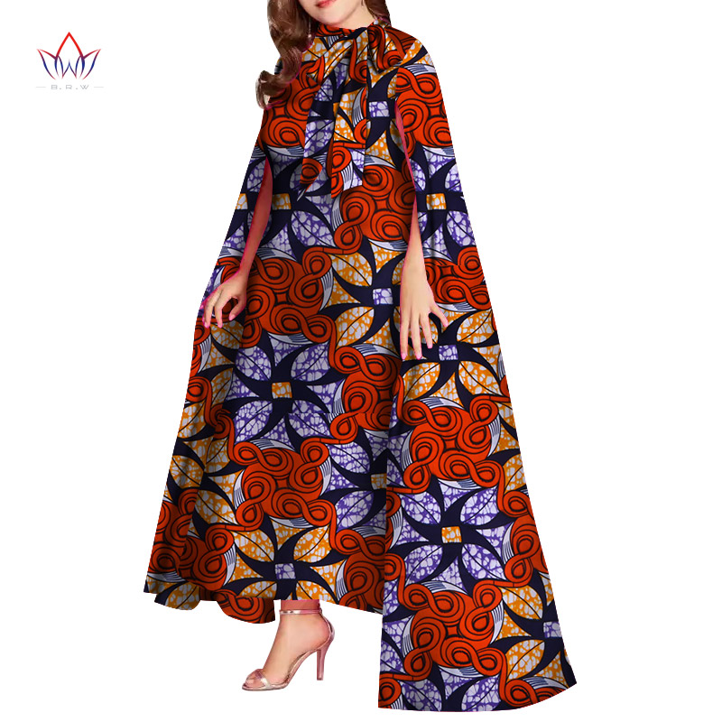 African Print Dresses Plus Size Dresses Woman Party Night African Dresses For Women In African Clothing Christmas Dress WY4592