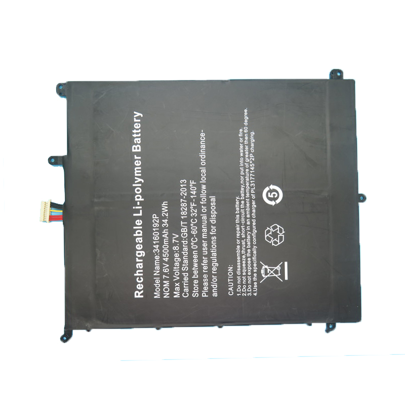 Laptop Battery For Chuwi For Lapbook SE CWI528 13.3 34160192P PT2877164-2S 7.6V 4500mAh 34.2Wh New