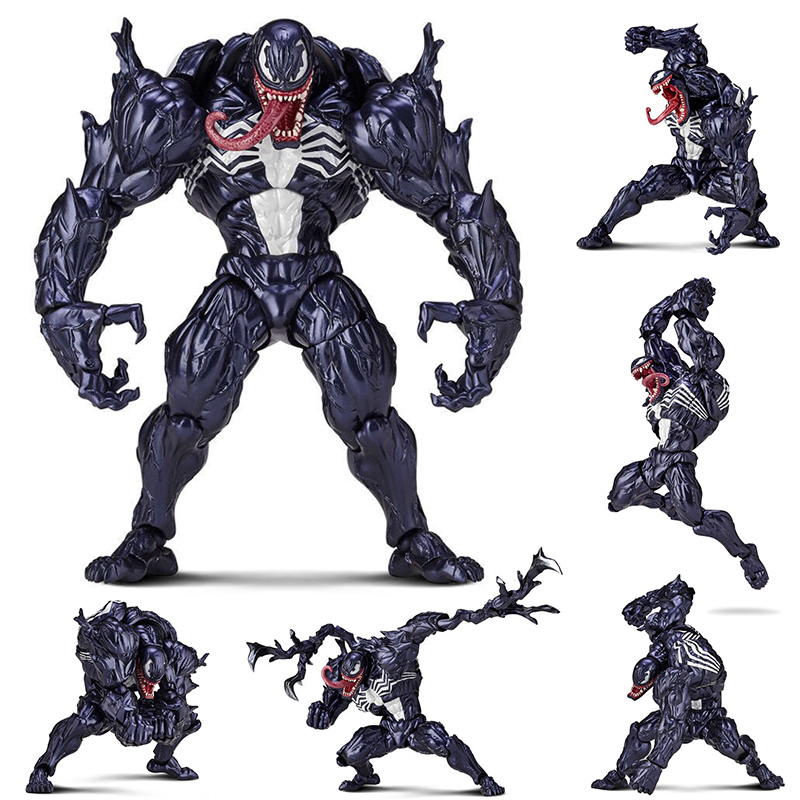 Anime Figurs 15CM NO.003 Venom PVC Action Figure Collectible Model Toy Xmas Gift B19