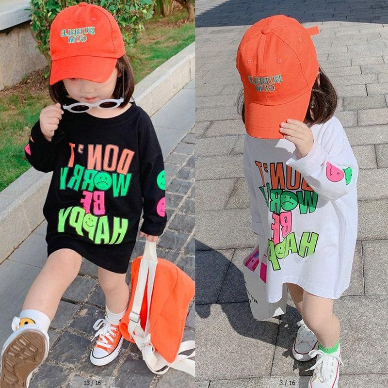 2020 Kids Clothes Girl Children Spring Autumn Long Sleeve Casual Print Cotton Dress 1