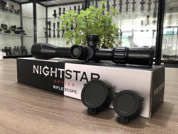Hunting Riflescope Night Star NS4-16x42 FFP first focal plane with Illumination for PCP for Airgun Airsoft scope image