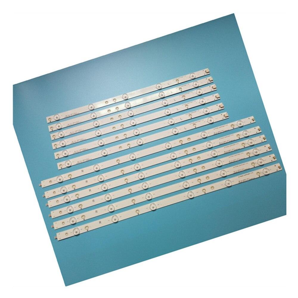 100% New 12pcs/Kit LED Strips For PHILIPS 50 TV 50PFT4509 50PFH4109 50PFT5300 12 TPT500J1 LE8 500TT25 500TT26 500TT55 500TT56