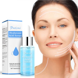 Hyaluronic Acid Face Serum Deep Moisturizing Anti-Aging Facial Essence Remove Wrinkles Fine Lines Firming Whitening Skin Care