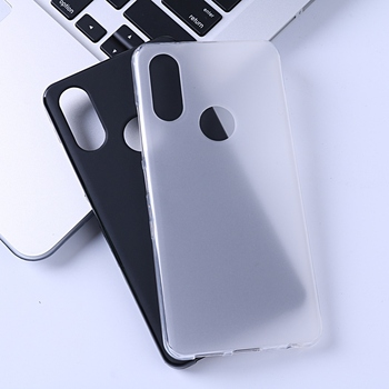 For BQ Aquaris X2 Case Silicone Cover Soft TPU Matte Pudding Cover Funda Cases For BQ Aquaris X2 Pro Tempered Glass Film image