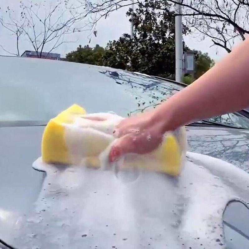 Очень большая губка для мойки автомобиля, Коралловая губка для мойки автомобиля, Очищающий блок для мойки автомобиля, аксессуары для автомо...