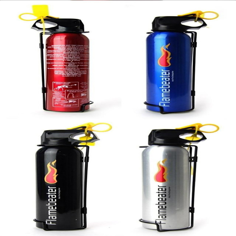 Genuine Mini Car Extinguisher Household Extinguisher Car Supplies Dry Powder Car Mounted Extinguisher
