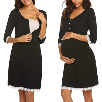 Womens Breastfeeding Pregnancy Dresses